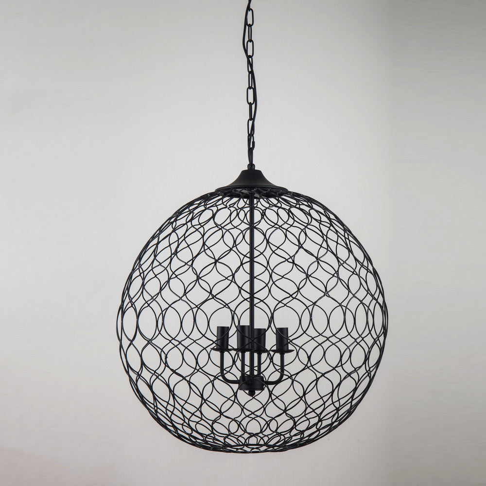 Nigel Iron Lattice Pendant