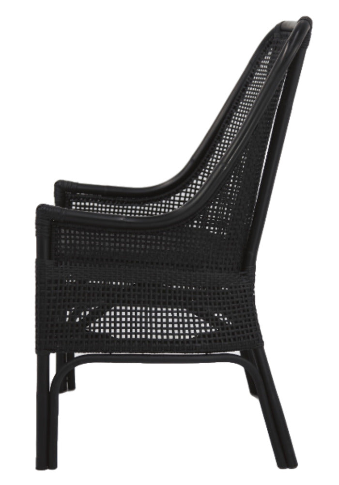 Albury Chair Solid Black Finish