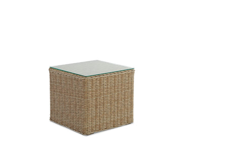 Andros Outdoor Coffee Table Weathered Grey