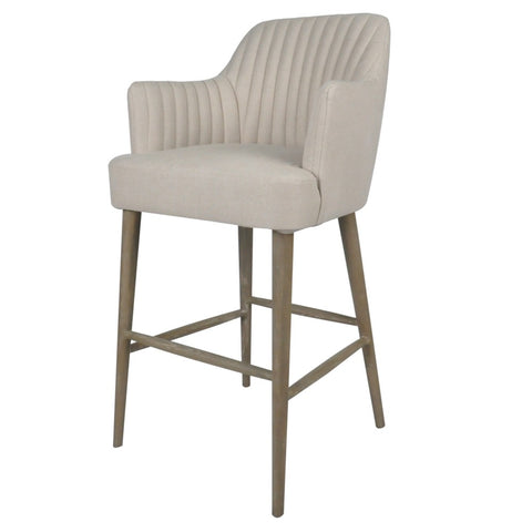 Bloom Counter Chair Silver Grey