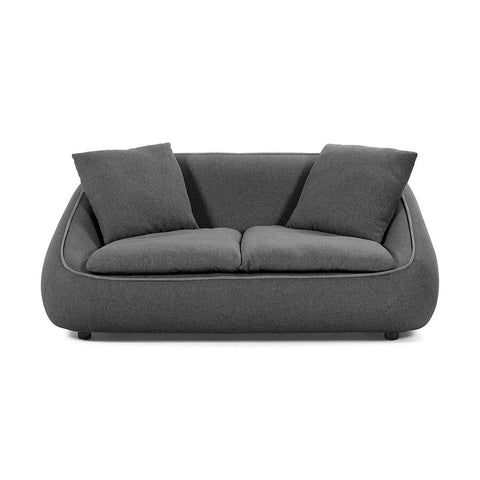 Macey 2 Seat Sofa Dark Grey