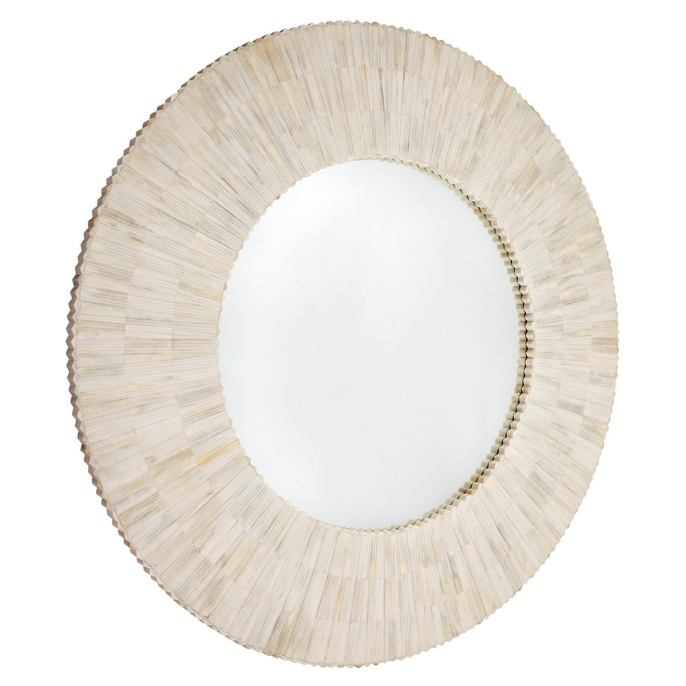 Dahlia Bone Inlay Mirror