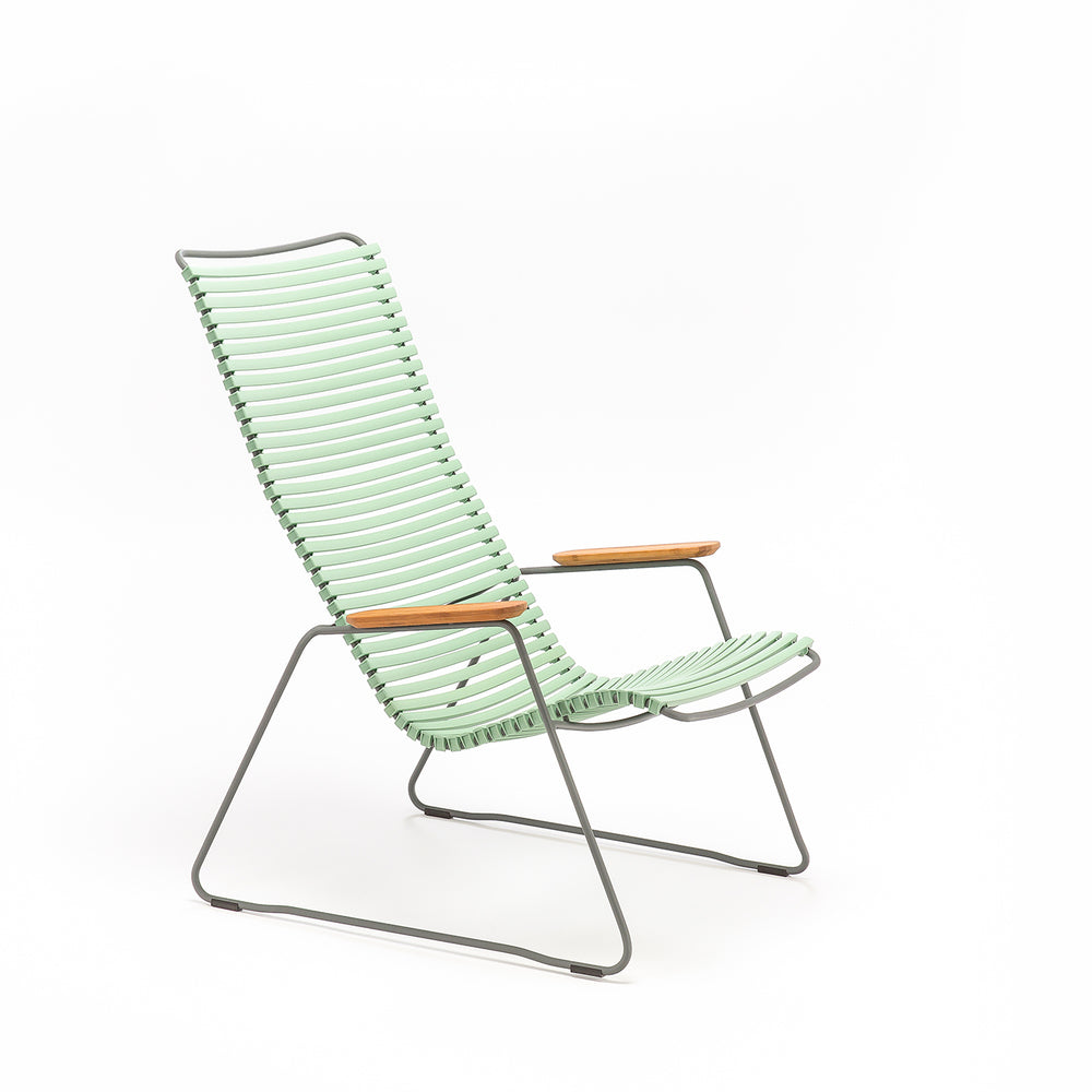 Click Outdoor Lounge Chair Dusty Light Green