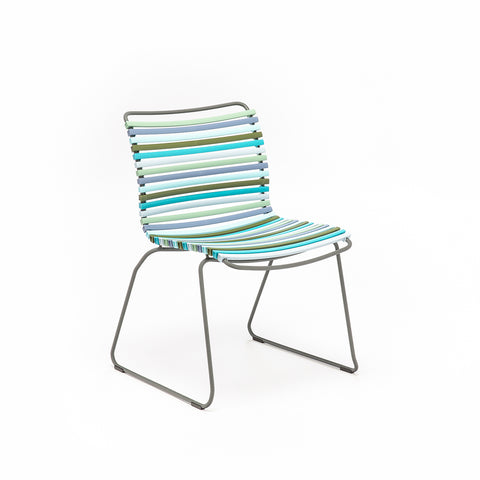 Click Lounge Chair Multi Green & Blue Palette