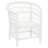 Nyanga Outdoor Rattan Armchair White