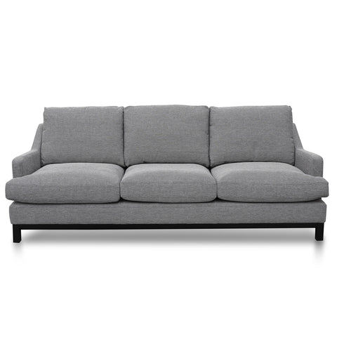 Roland 3 Seater Sofa Oslo Grey
