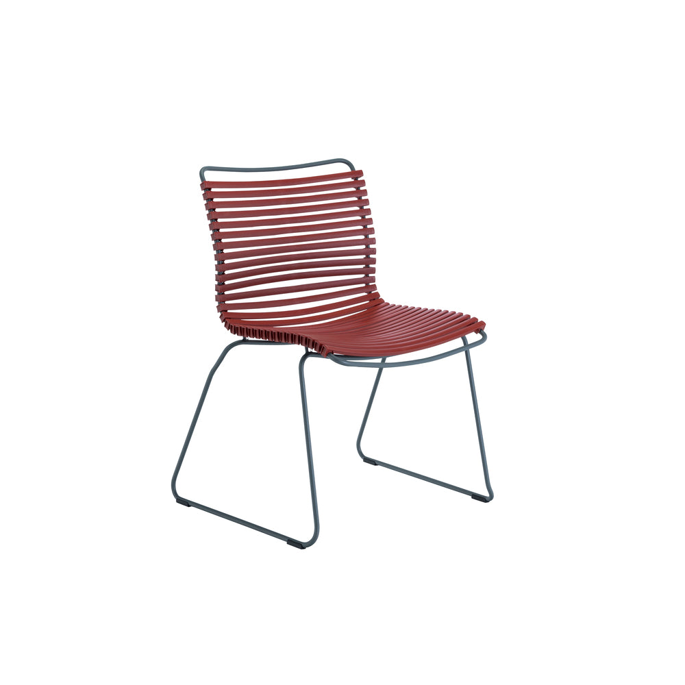 Click Outdoor Dining Chair Paprika