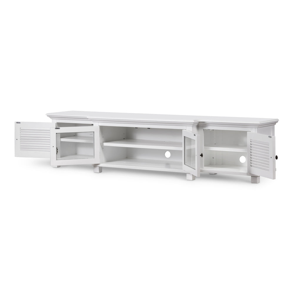Henley Entertainment Unit White