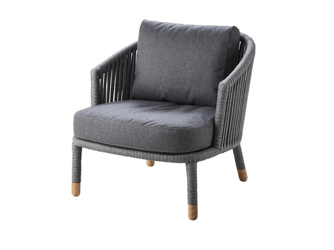 Moments Lounge Chair Grey