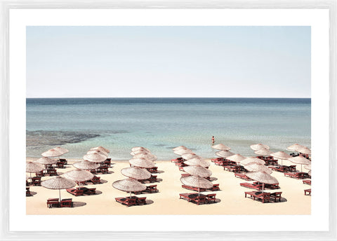 Terrace Photographic Framed Print