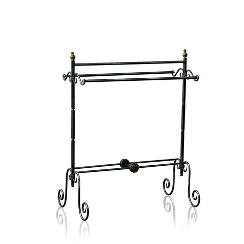 Victorian Wrought Iron Towel Rail