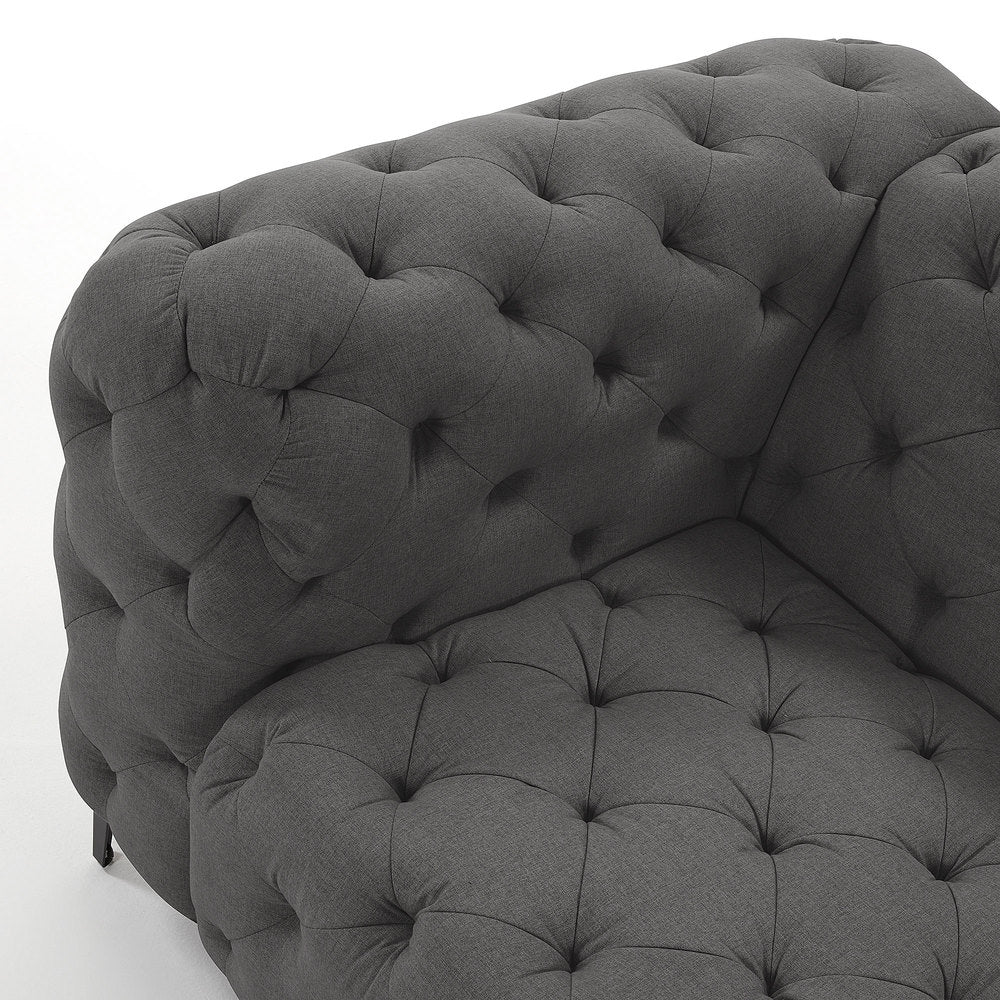 Galetti Sofa Dark Grey