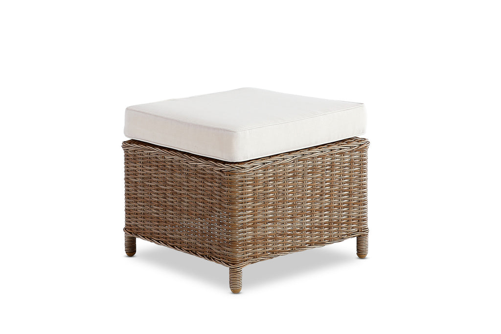 Aegean Outdoor Footstool Natural