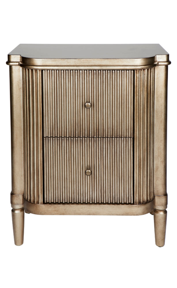 Caron Bedside Antique Gold