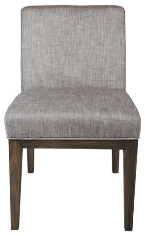 Lennox Dining Chair Dark Grey