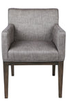 Lennox Arm Chair Dark Grey