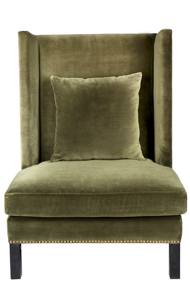 Lourdes Arm Chair Moss