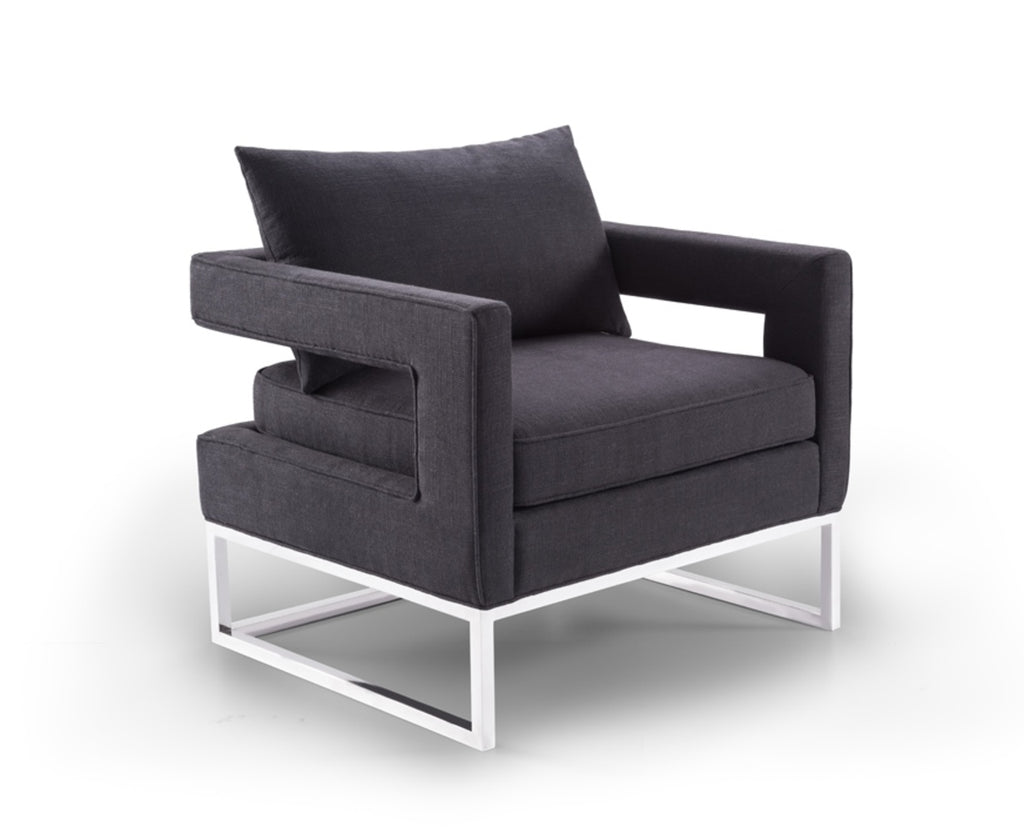 Elle Arm Chair Black