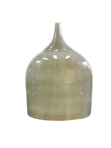 Oval Vase Green