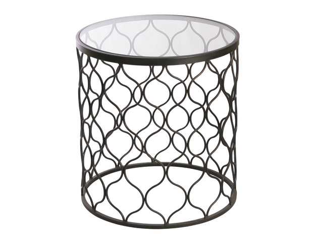 Round Filigree Side Table