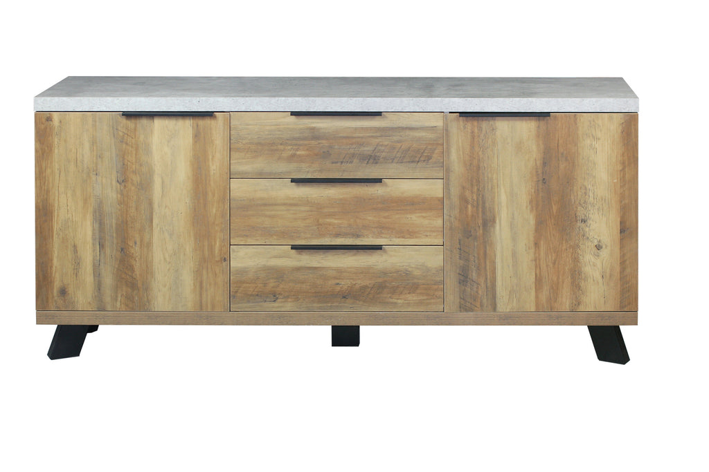 Atlanta Sideboard with Faux Concrete