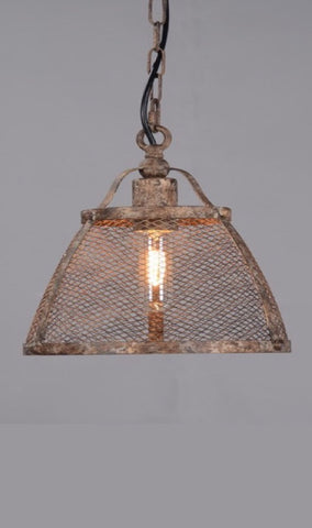 Lorenzo Rustic Hanging Lamp Medium
