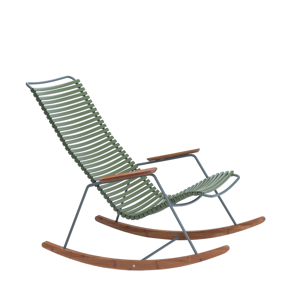 Click Outdoor Rocking Chair Olive Green