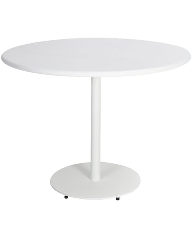 Malmo Outdoor Dining Table 120cm White