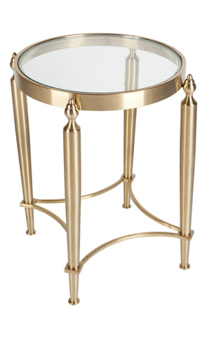 Jermaine Side Table Gold
