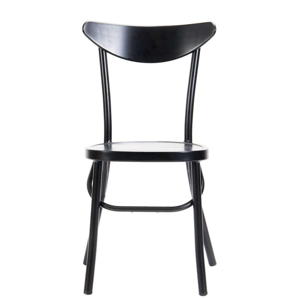 Meli Indoor/Outdoor Chair Matt Black