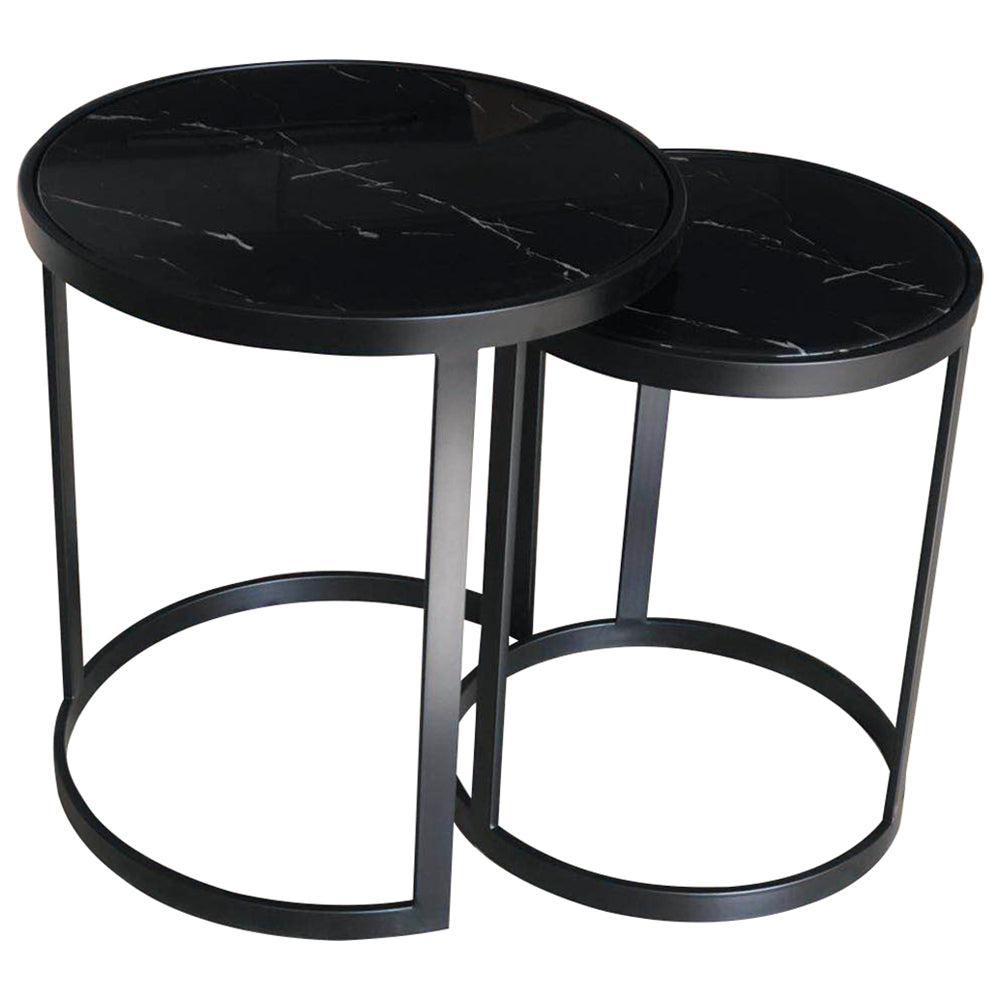 Galway Side Table Set/2 Black