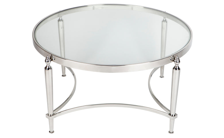 Jacques Coffee Table Nickel