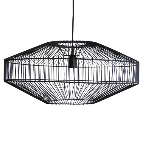 Theron Pendant Black