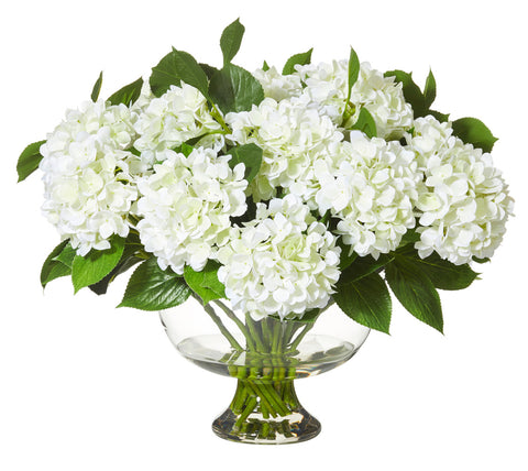 Artificial flowers australia interiors online hydrangea mix in dahlia bowl white mightylinksfo