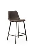 Conti Bar Stool Antique Grey