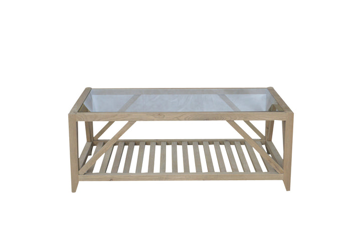 Kennett Coffee Table Weathered Oak