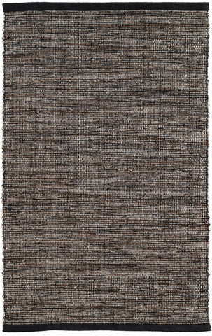 Grant Black/Brown Cotton Rug