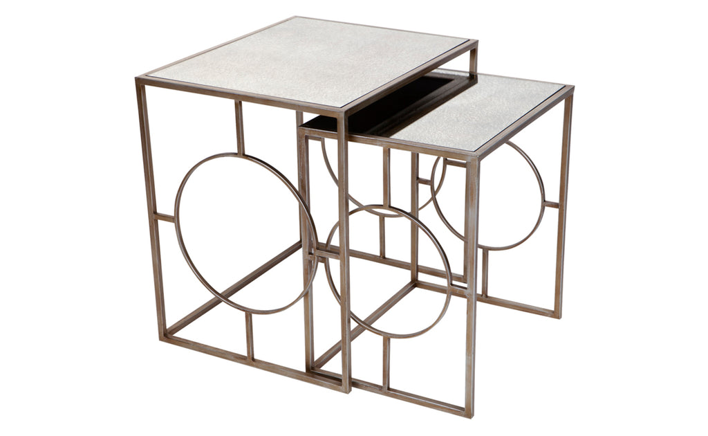 Melrose Nest of Tables Set/2