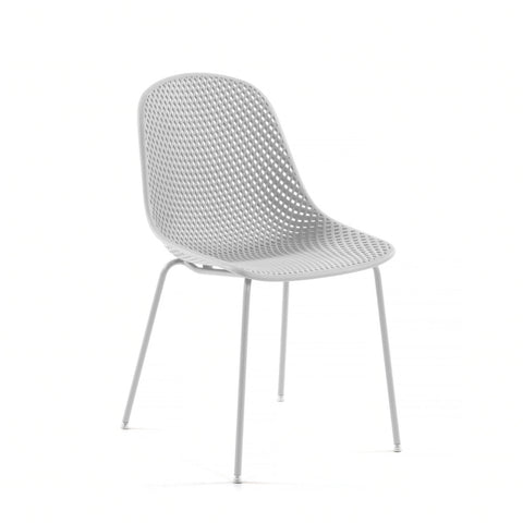 Quade Indoor/Outdoor Dining Chair White