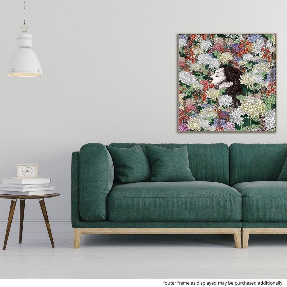 Lush Canvas Print with Floating Frame
