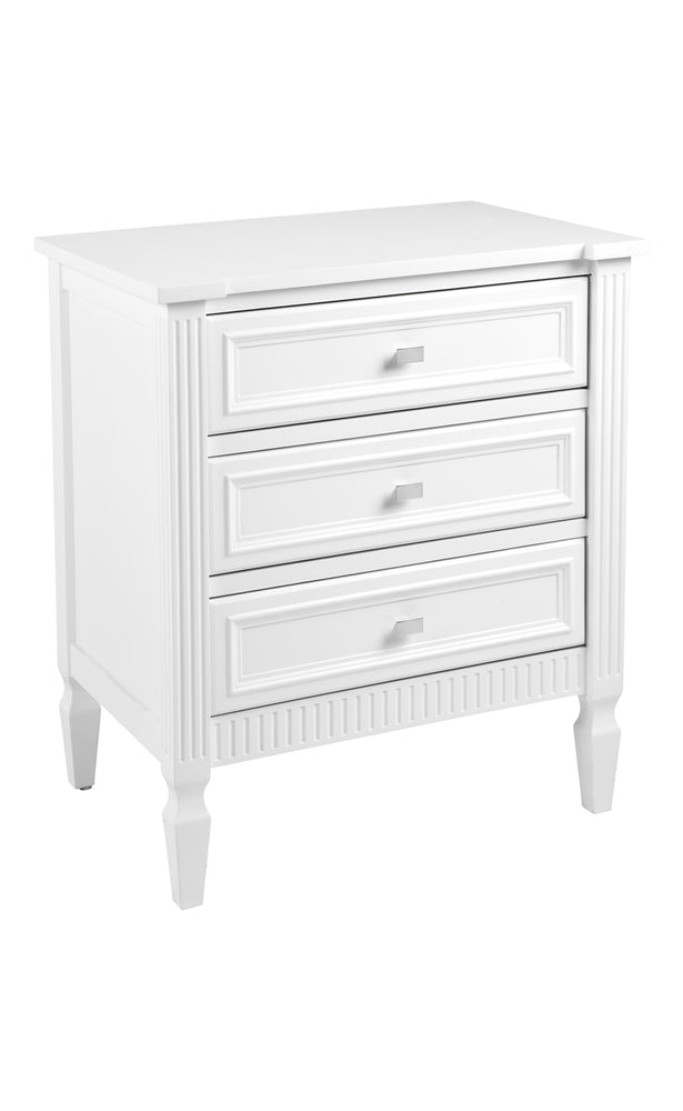 Merci Bedside Table Large White