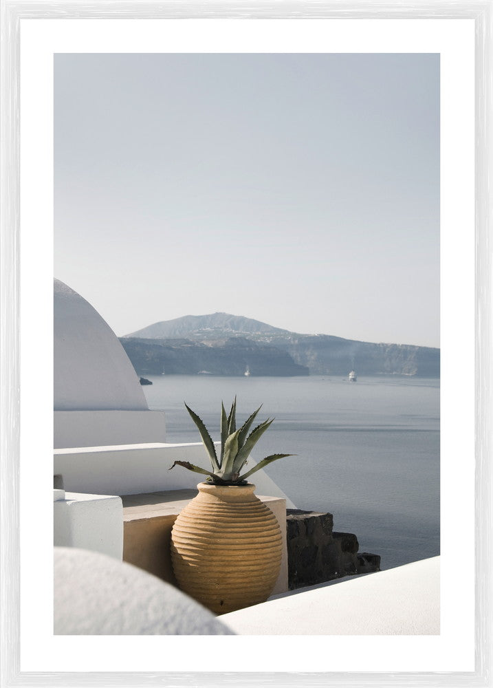 Santorini Photographic Framed Print