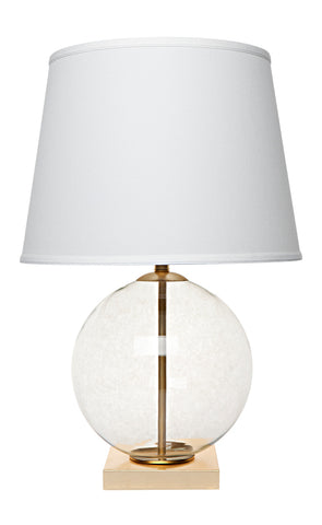 Bocce Table Lamp Antique Silver