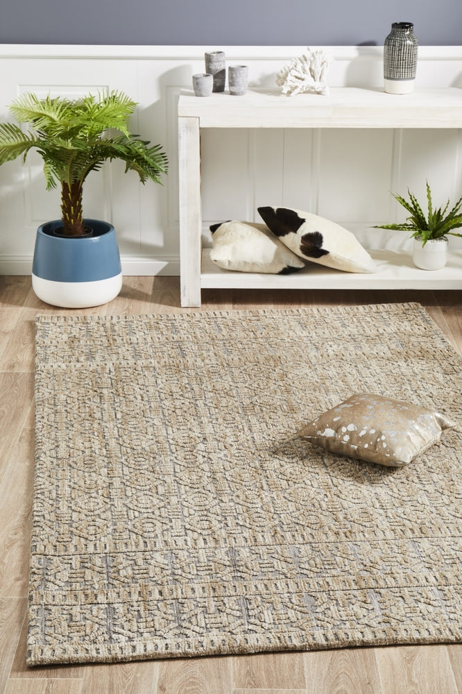 Flakstad Rug Natural Grey