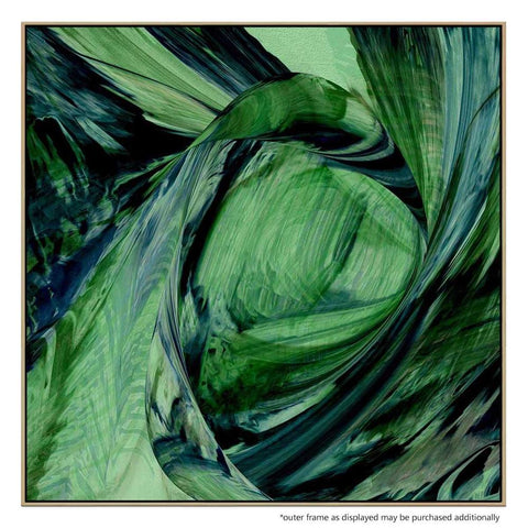 It's A Breeze Framed Canvas Print