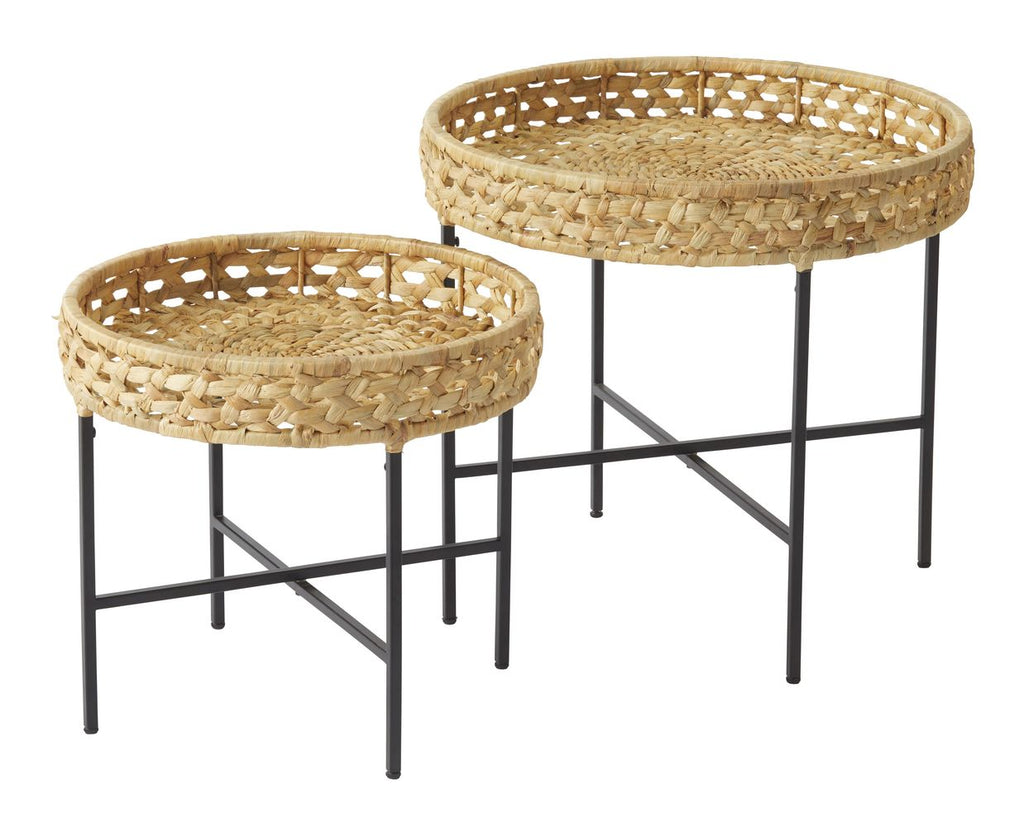 Seychelles Side Tables Set/2