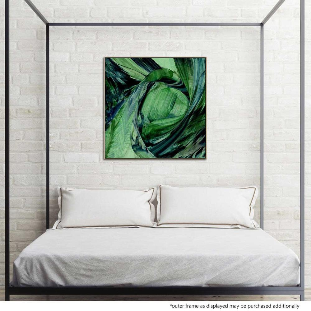 Verdissimo Canvas Print with Floating Frame