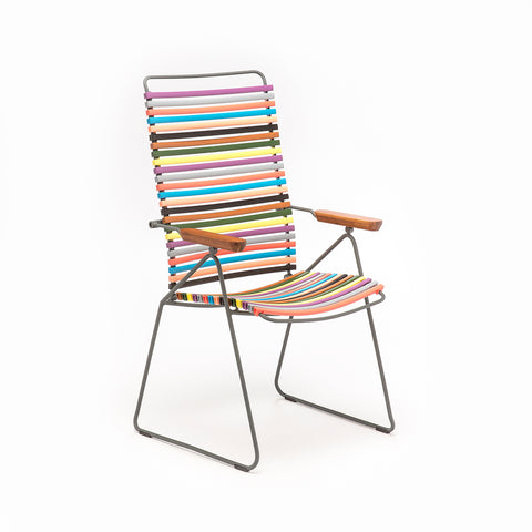 Una Sling Dining Chair White