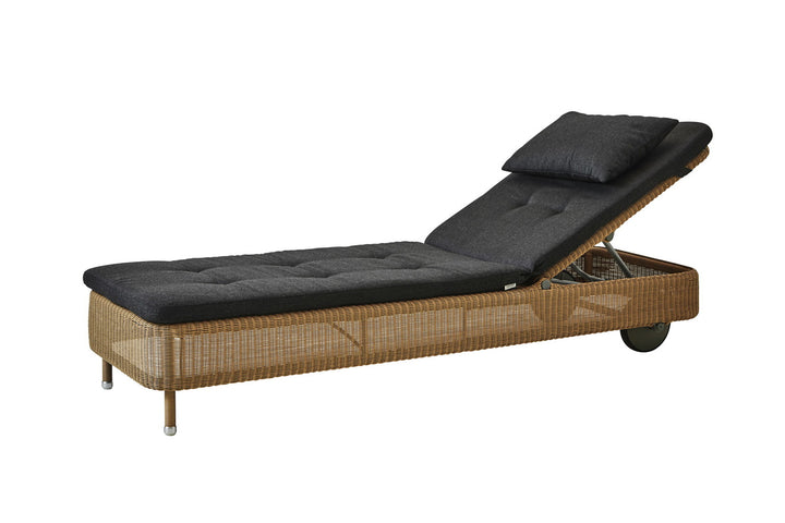 Presley Sunbed Natural with Cushion Options