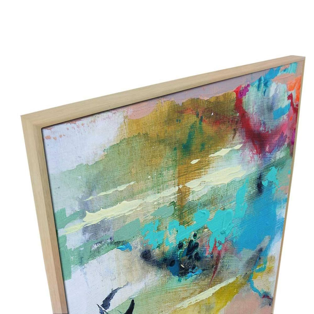 Roxy Canvas Print with Floating Frame